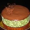 Tarta fantasía de chocolate y nata