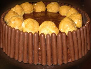 Tarta Chocolate Por Castigo