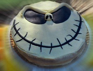 Tarta Jack Skeleton