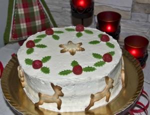 Tarta Nochebuena