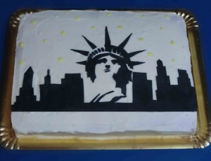 Tarta Skyline New York