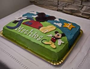 Tarta Casa de Mickey Mouse