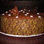 Tarta Fantasía de avellana y chocolate